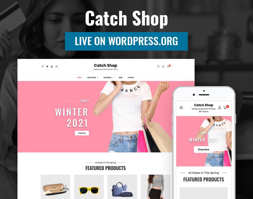 Catch Shop - eCommerce WordPress Theme
