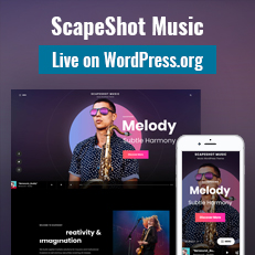 ScapeShot Music Now Live on WordPress.org thumbnail