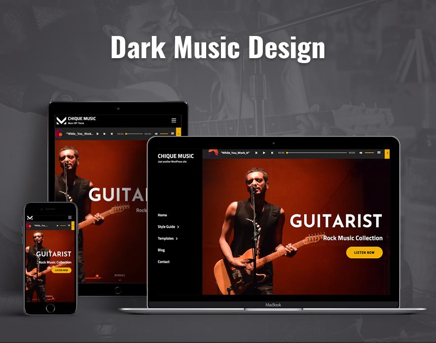 dark music demo in Chique Music