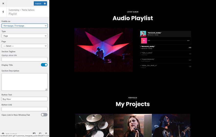 Playlist in ScapeShot Pro 2.0