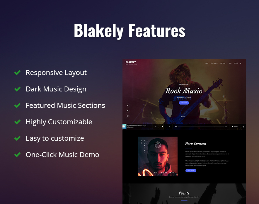 Blakely Free Features