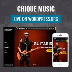 Chique Music is Now Live on WordPress.org thumbnail